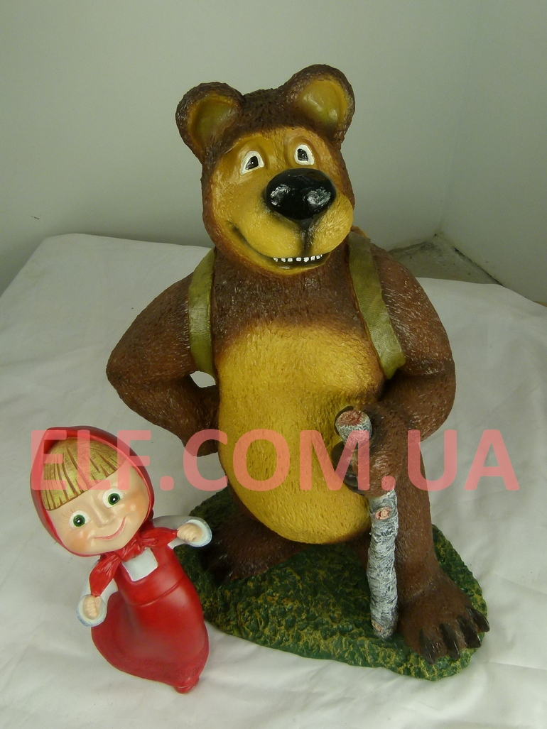 Маша и медведь для сада